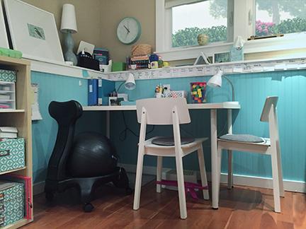 Jane's tutoring space
